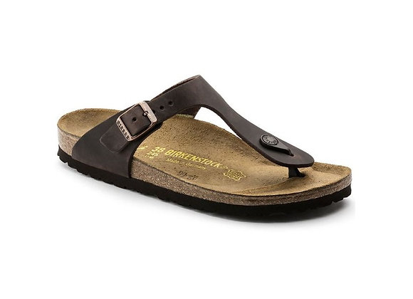 INFRADITO BIRKENSTOCK HABANA 0743831, VERA PELLE, MADE IN GERMANY