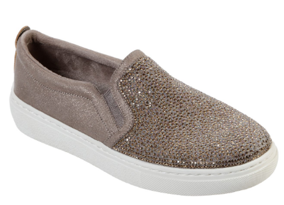 SLIP-ON DONNA SKECHERS 73728 TAUPE
