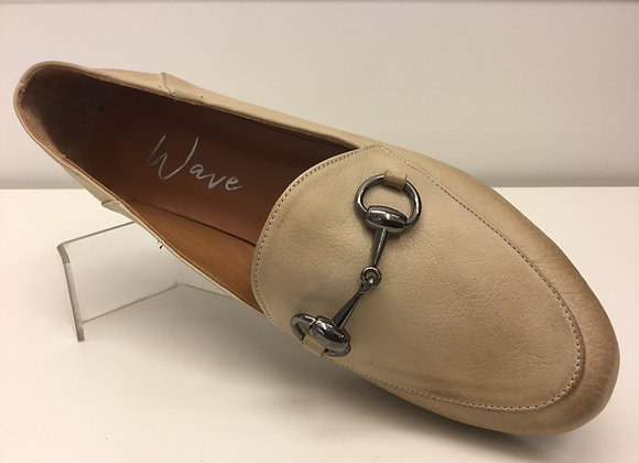 MOCASSINO DONNA WAVE AS-9116 BEIGE