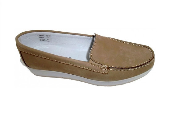 MOCASSINO IGI&CO 1138422 PELLE TORTORA, MADE IN ITALY