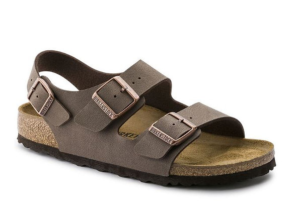 BIRKENSTOCK MILANO MOCCA 0634501, MADE IN GERMANY