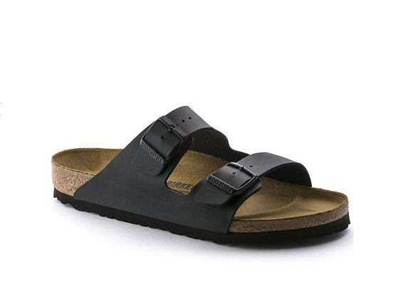 BIRKENSTOCK ARIZONA BLACK 0051793 BIRKO FLOR, MADE IN GERMANY