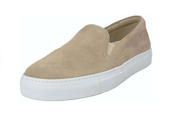 SLIP-ON FRAU 40C2 CAMOSCIO SABBIA, MADE IN ITALY, PREDISPOSTA