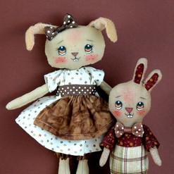 Maman et Bunny-Crispy