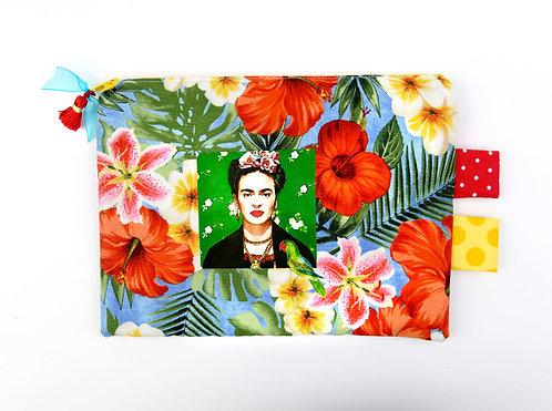 """Pochette """"Frida entre ciel et fleurs"""""""