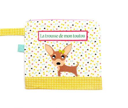 """Trousse pour chien """" toutou"""""""
