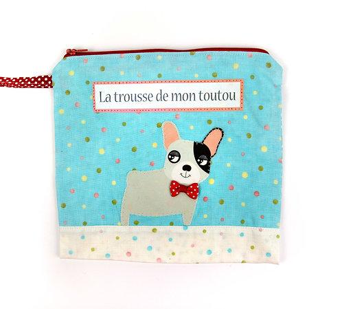"""Trousse pour chien """" mignon """""""