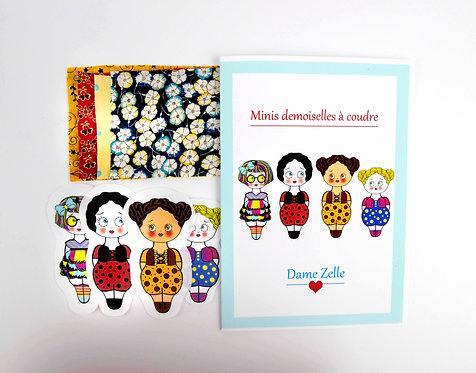 "Kit de couture "" 4 minis demoiselles Josiane """