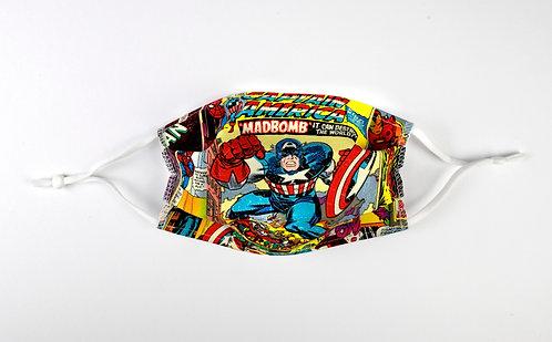 """Masque pour ENFANT """"Captain America"""""""