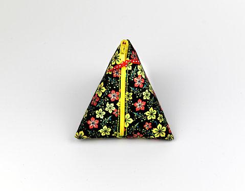 Berlingot (porte-monnaie, range tétine, ...) fleurs