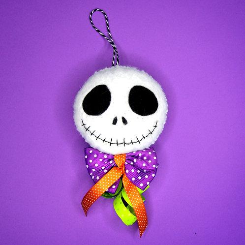 Suspension Mr Jack  (noeud violet)