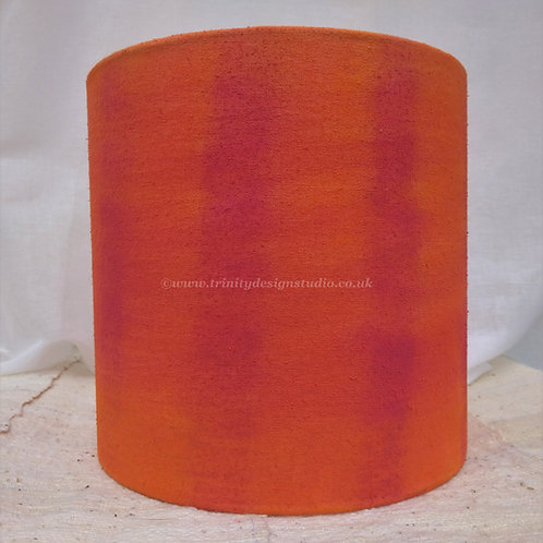 'Brenda' hand painted silk lampshade