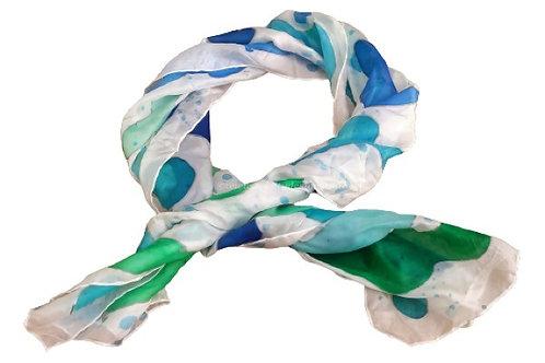 Blou - silk scarf