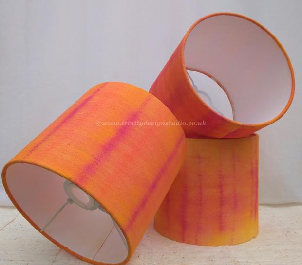 silk lampshades