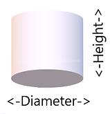 lampshade size diagram