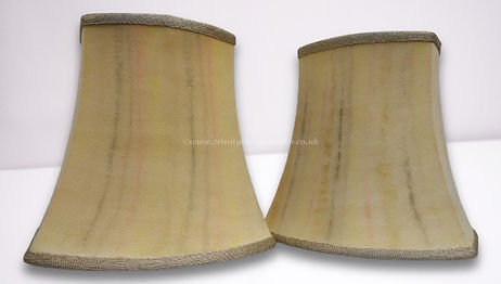 hand painted silk lampshades