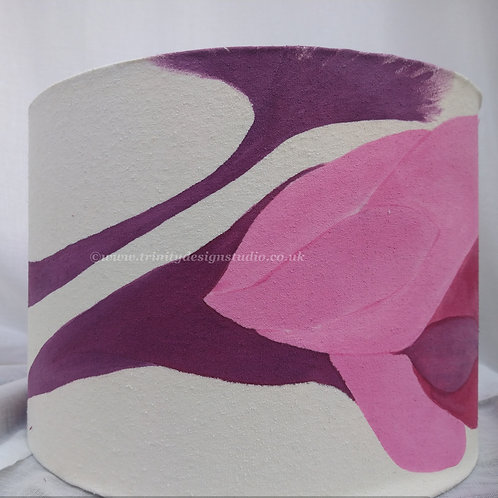 'Sylvia' silk lampshade