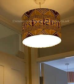 Two celing lampshades.jpg