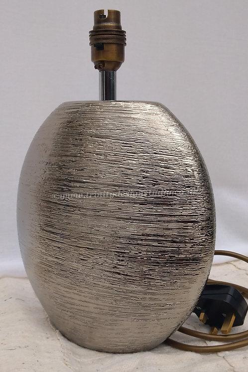 retro silver lamp