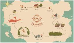 מפה מסע הגיבור