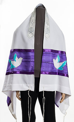 Doves of Peace prayer Shawl Tallit