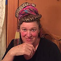 Ann Drucker w snake.JPG