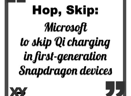 Microsoft to skip Qi charging