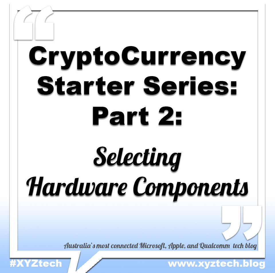 CryptoCurrency Starter Series