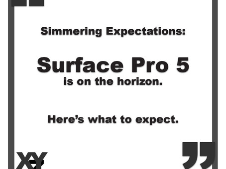 Microsoft Surface Pro 5: Simmering Expectations