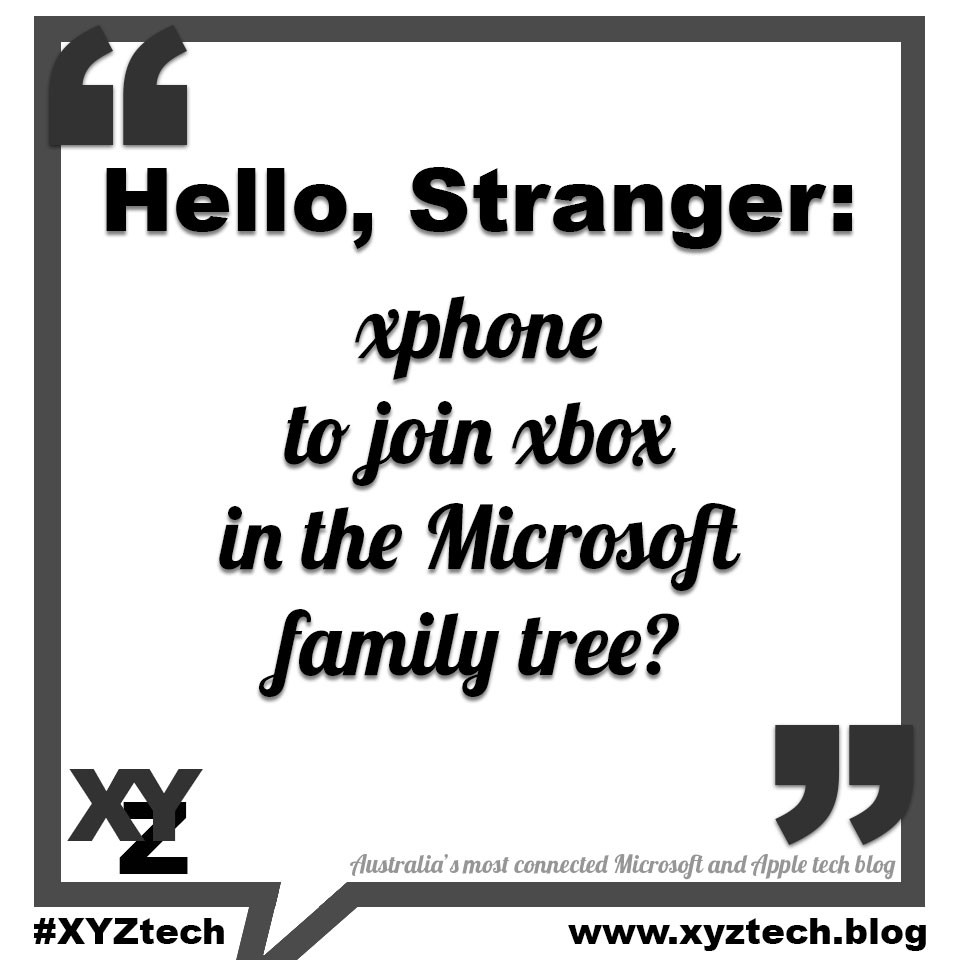 Microsoft xphone