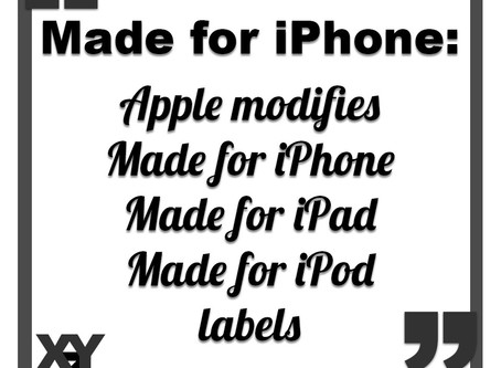 Apple modifies Made for iPhone labels