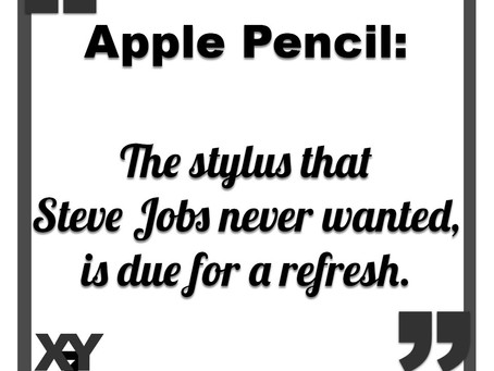 Apple Pencil due for an update