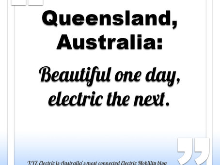 Queensland Australia is home to the Electric Super Highway