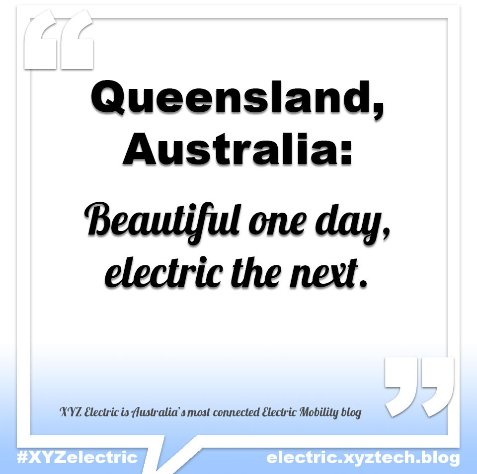 Queensland, Australia, electric highway. #XYZelectric