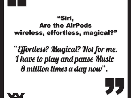 Apple AirPods: Magical. Not for Siri!