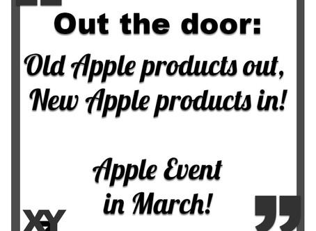 Apple event to be held at end of March