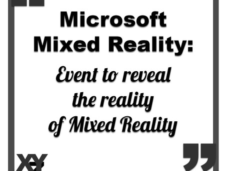 Microsoft's Mixed Reality event to reveal the reality of Mixed Reality