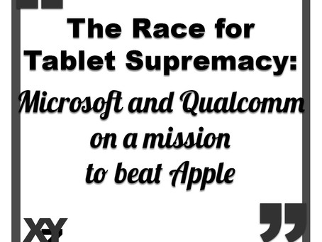 Microsoft and Qualcomm in race for tablet supremacy over Apple