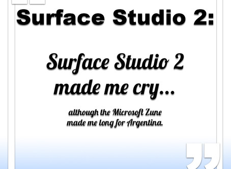 Surface Studio 2 made me cry