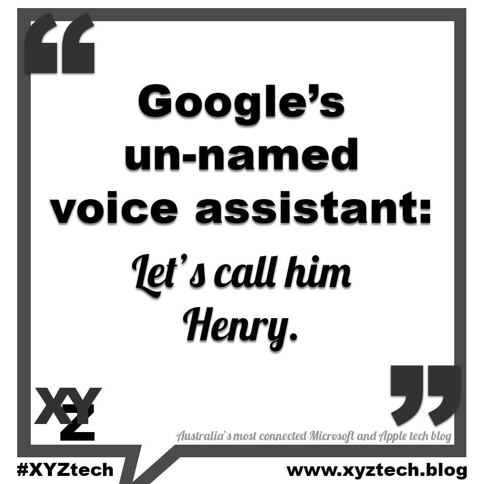 Google Henry