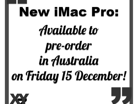 New iMac Pro ready to order this week