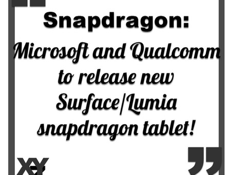 Microsoft and Qualcomm's new tablet