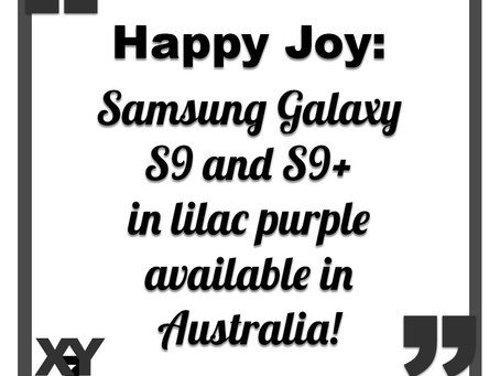 Samsung Galaxy S9 and S9+ in lilac purple available in Australia
