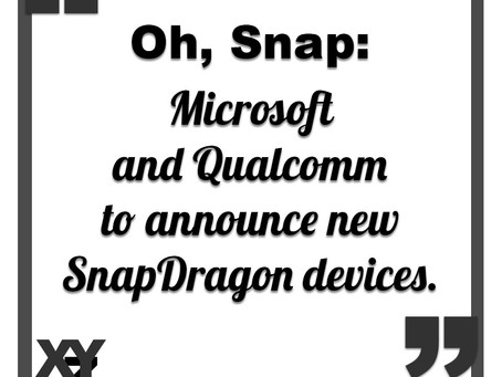 Microsoft and Qualcomm to announce Snapdragon devices