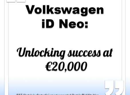 Volkswagen iD Neo to start from €20,000