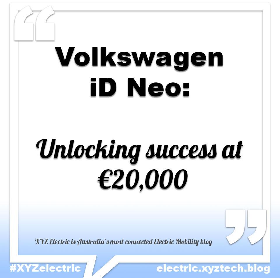 Volkswagen iD Neo, #XYZelectric