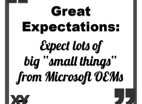 Expect big small things from Microsoft OEMs