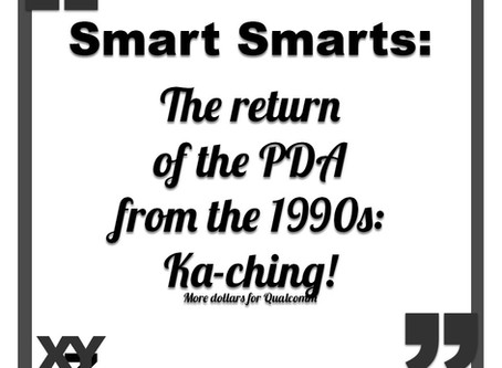 The return of the PDA (from the 1990s)