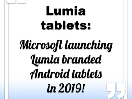 Microsoft launching Lumia tablet with Android