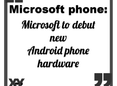 Microsoft to debut new Android phone hardware